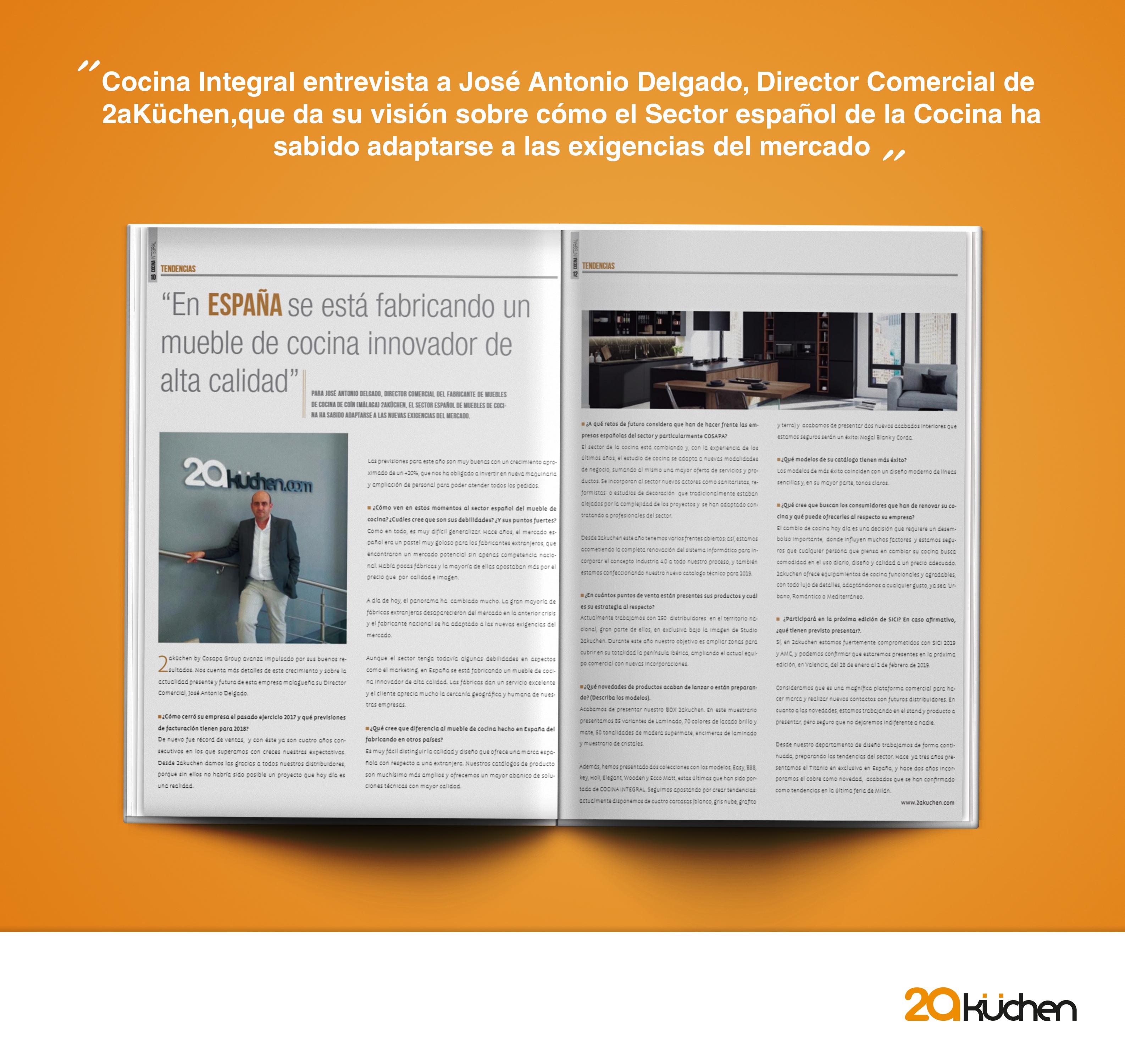 En España se está fabricando un mueble de cocina innovador de alta ...