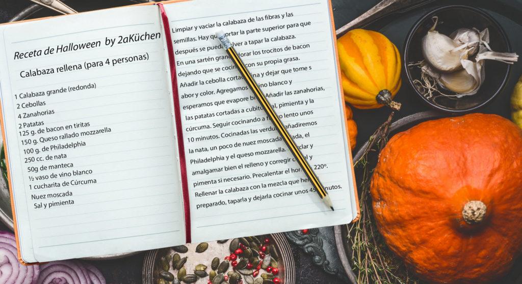 Calabaza rellena: Receta de Halloween by 2aKüchen